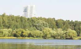 Moscow, park Pokrovskoye-Streshnevo-Glebovo Royalty Free Stock Images