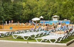 Moscow, park Sokolniki Stock Image