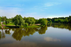 Moscow park Tsaritsyno royalty free stock photo