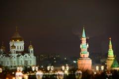 moscow passeio ao inverno de Moscou fotos de stock royalty free