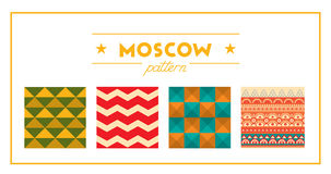 Moscow pattern Stock Images