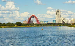 Moscow, Picturesque bridge Royalty Free Stock Photo