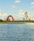 Moscow, Picturesque bridge Stock Photos