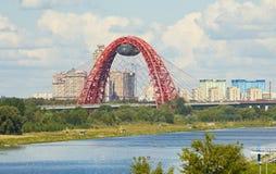 Moscow, Picturesque bridge Royalty Free Stock Image