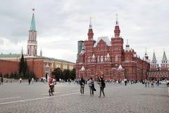 moscow plac czerwony Zdjęcia Royalty Free