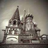 moscow plac czerwony s katedralny basila saint Obraz Royalty Free