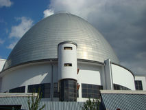 Moscow planetarium. Dome of a building of the Moscow planetarium Stock Photo