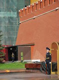 moscow Poczta liczba jeden przy Wiecznie płomieniem Zdjęcie Royalty Free