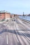Moscow. Prechistenskaya embankment Royalty Free Stock Photography