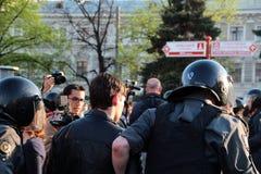 moscow protesty Zdjęcie Royalty Free
