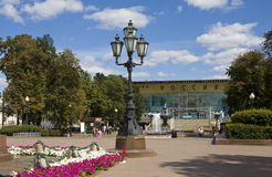 Moscow, Pushkinskaya square Stock Image