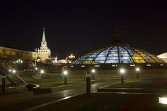 moscow Quadrado de Manezhnaya Rússia Foto de Stock Royalty Free