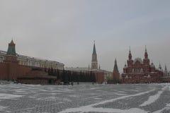 moscow röd fyrkant Royaltyfri Fotografi