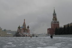 moscow röd russia fyrkant Royaltyfri Fotografi