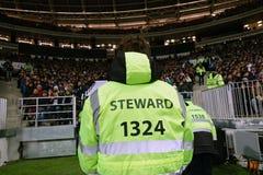 moscow Rússia 11 de novembro de 2018 Stewart em um fósforo de futebol Imagens de Stock