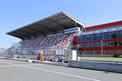 Moscow Raceway race track Royalty Free Stock Images