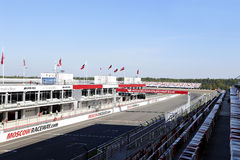 Moscow Raceway race track Stock Photography