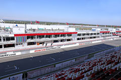 Moscow Raceway race track Stock Photos