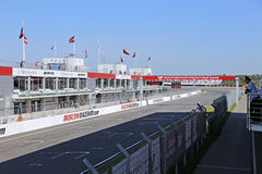 Moscow Raceway race track Royalty Free Stock Photos