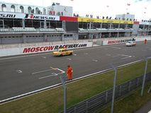 Moscow raceway summer Stock Image