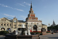 Moscow railway station Kazansky Stock Photography