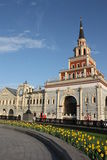 Moscow railway station Kazansky Royalty Free Stock Photography