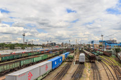 Moscow,railway Stock Photos