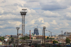 Moscow,railway Stock Images