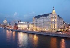 Moscow. Raushskaya embankment. Stock Photo