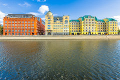 Moscow real estate buildings Royalty Free Stock Photos