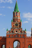 Moscow red cremlin copy Royalty Free Stock Photos