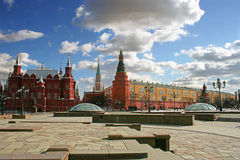 Moscow Red square Royalty Free Stock Photos