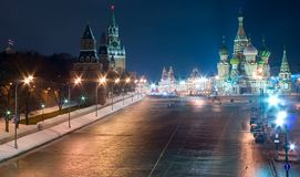 Moscow Red Square Royalty Free Stock Images