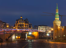 Moscow Red Square Kremlin Royalty Free Stock Image