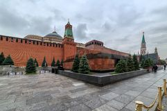 Free Moscow Red Square. Lenin`s Mausoleum. Stock Photo - 143579430