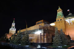 Moscow, Red Square, mausoleum. Historical monument Stock Photography