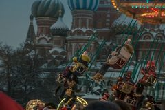 Moscow Red Square New Year royalty free stock photography