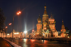 Moscow, Red Square. Night in Moscow, Red Square Royalty Free Stock Photography