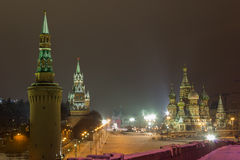 Moscow,red square. Recent photo with views of the red square Royalty Free Stock Photography