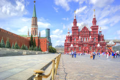 Moscow. Red Square Stock Images