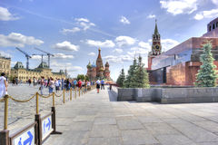 Moscow. Red Square Royalty Free Stock Image