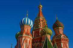 MOSCOW, RED SQUARE. Moscow,Russia,Red square, St. Basil`s Cathedral Royalty Free Stock Image