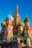 MOSCOW, RED SQUARE. Moscow,Russia,Red square, St. Basil`s Cathedral Royalty Free Stock Photos
