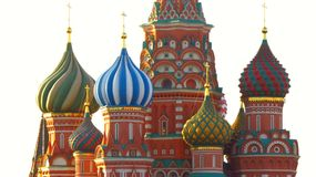 MOSCOW, RED SQUARE, Saint Basil's Cathedral Royalty Free Stock Photos