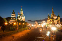 Moscow, Red square Stock Images