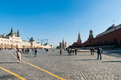 Moscow Red Square Stock Photos