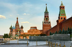 Moscow,Red square. View of the Moscow Kremlin and Red Square Stock Image