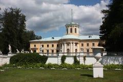 Moscow region. Gods Arkhangelskoe. Slott. Royaltyfri Foto