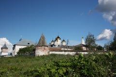 Moscow region, Mozhaisk. Luzhetsky kloster. Fotografering för Bildbyråer