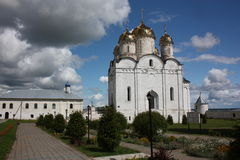 Moscow region, Mozhaisk. Luzhetsky monastery. Stock Photo